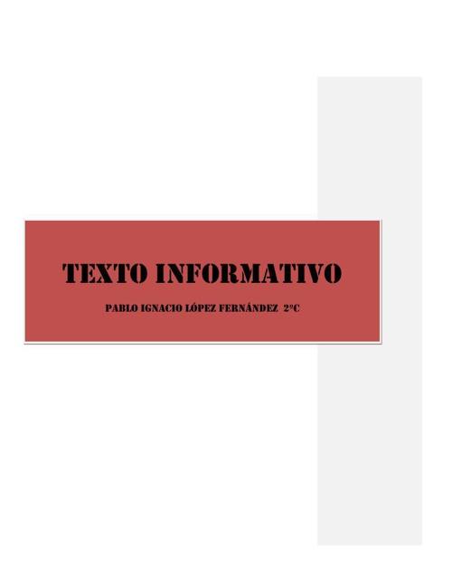 Redacción Informativa