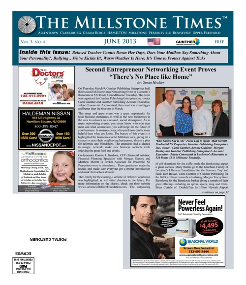 Millstone Times May 2013