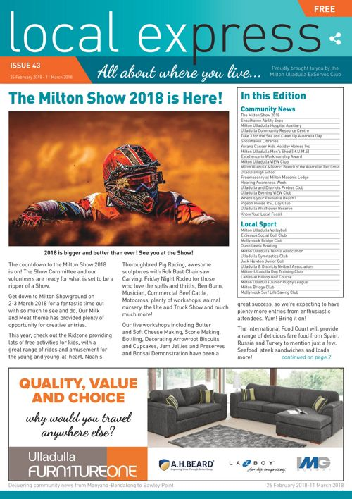 Issue 43: 26 February 2018-11 March 2018