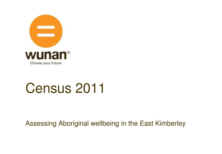 Wunan 2011 Census
