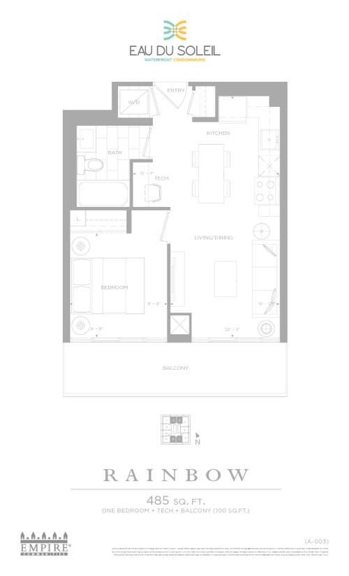 Eau Du Soleil - Floor Plans