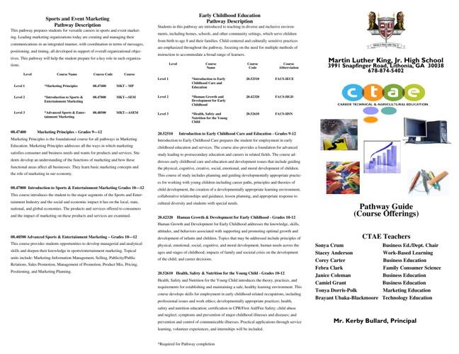 Program and Community Recruitment
