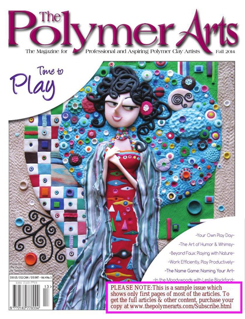 Sampler: The Polymer Arts Fall 2014 - Time to Play