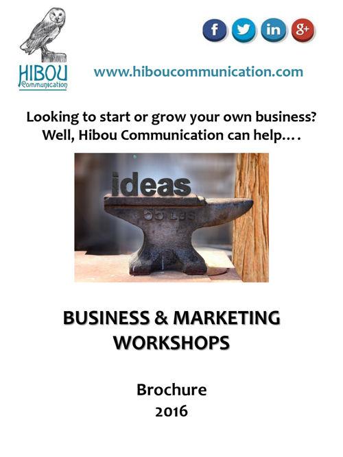 Hibou Communication Business & Marketing Workshops