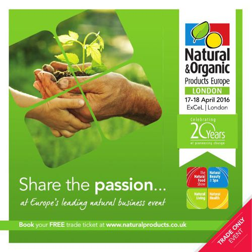 Natural & Organic Products Europe Visitor Brochure