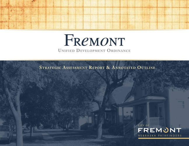 Fremont Strategic Assessment Report and Annotated Outline