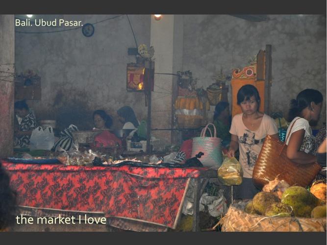 the market I love (Ubud Pasar, Bali)