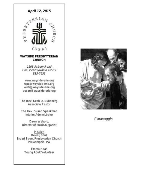 4-12-15 Bulletin