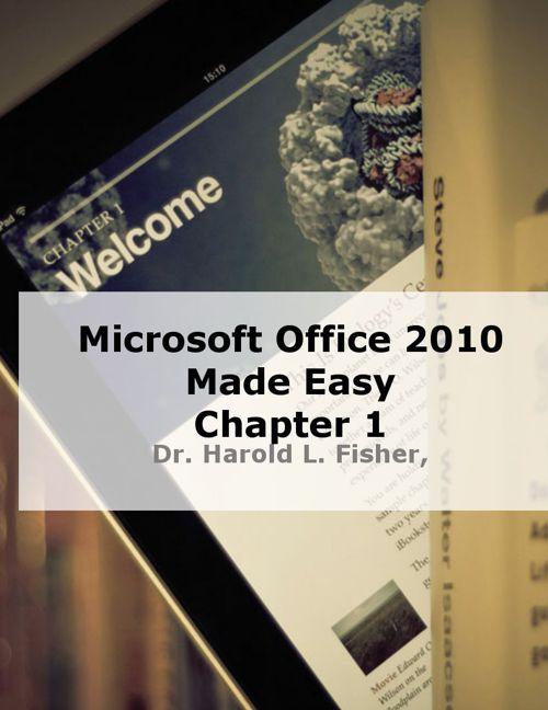 Microsoft Word 2010 Chapter 1