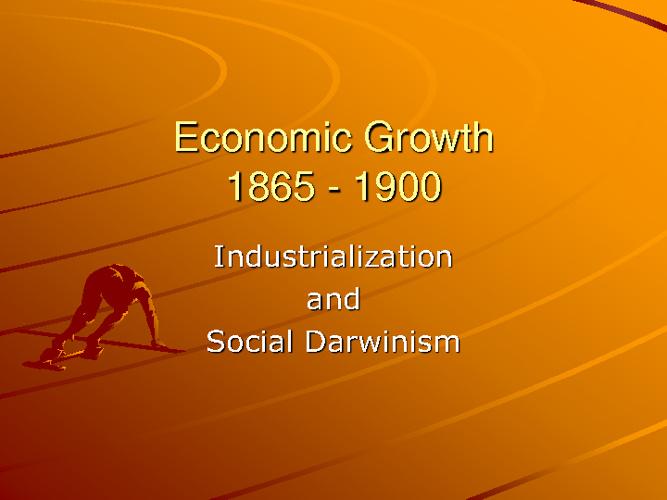 Gilded Age Economics