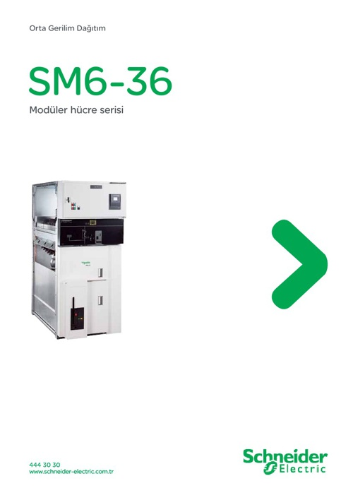 Scheneider Elektrik SM6-36 Katalog