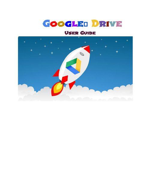 GuidetoGoogleUserDrive