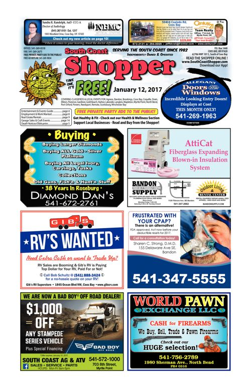 South Coast Shopper e-Edition 1-12-17