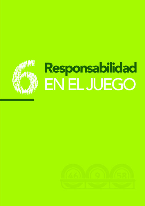 6. RESPONSABILIDAD EN EL JUEGO