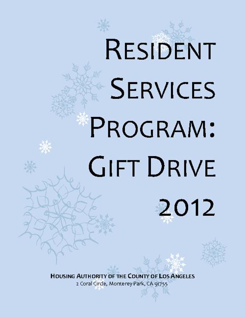 HACoLA Gift Drive 2012