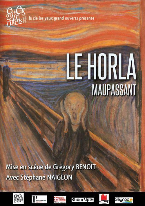 Le Horla de Guy de Maupassant / Mise en scène Grégory Benoit