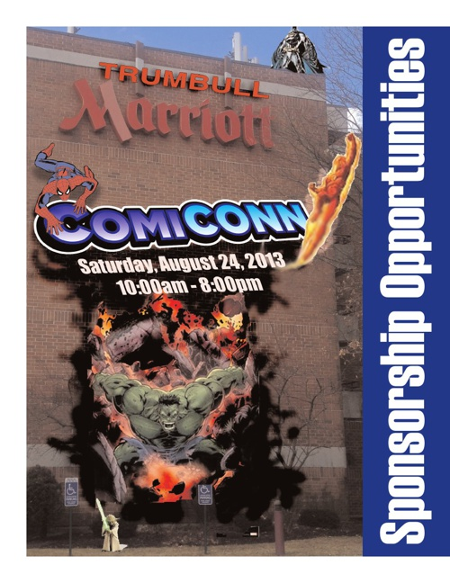 CT Comic Con Sponsorships