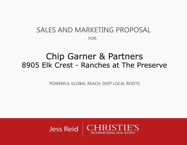 8905 Elk Crest_Marketing Proposal