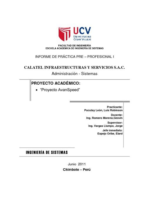 """""""Proyecto AvanSpeed"""""""