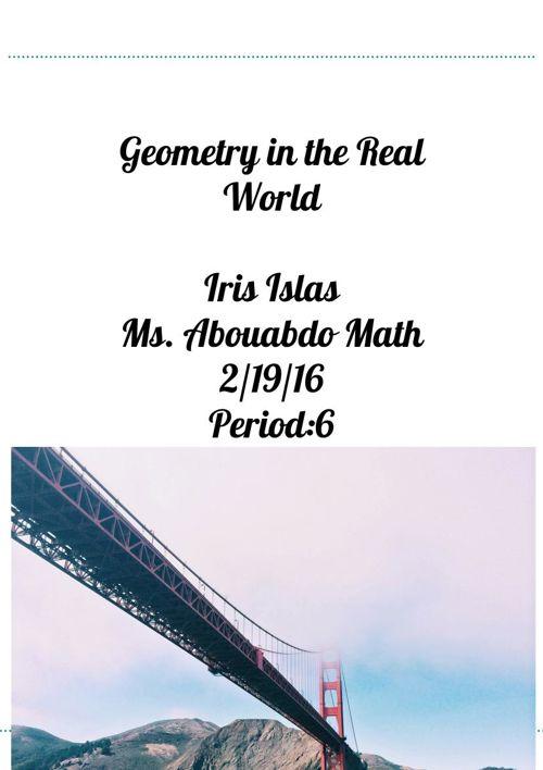 Iris Islas Geometry Vocabulary