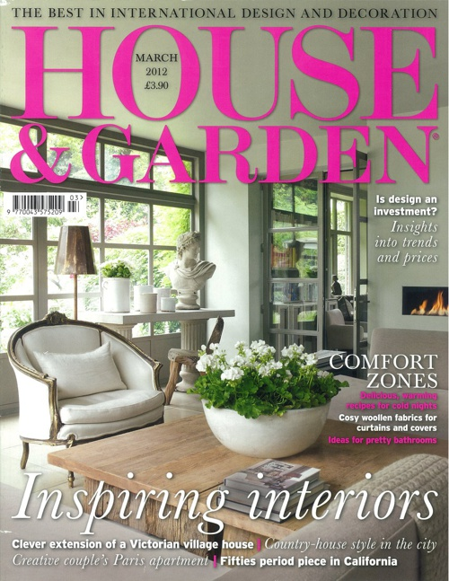 House and Garden March 2012