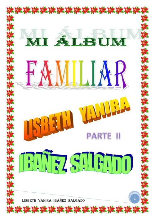 MI ALBUM FAMILIAR PARTE II