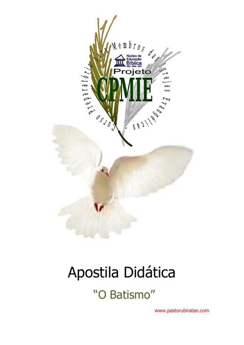 Apostila Didática (Batismo)