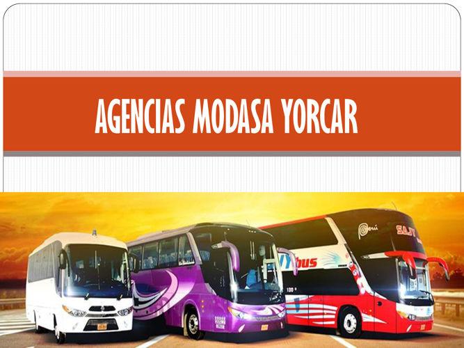AGENCIAS MODASA YORCAR
