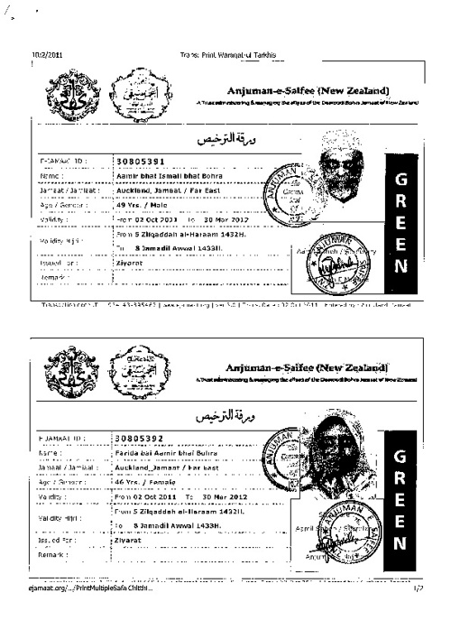 New Flip Travel Documents