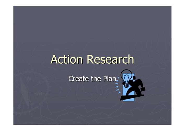1. AR Planning