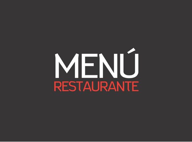 Menu Restaurante PDF
