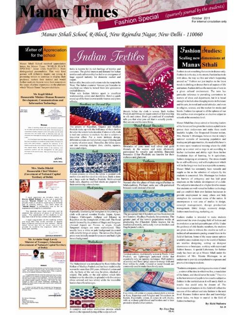 Manav Times - October 2011