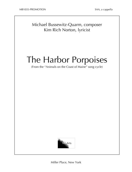 """Animals on the Coast of Maine"" Part 1: The Harbor Porpoises"