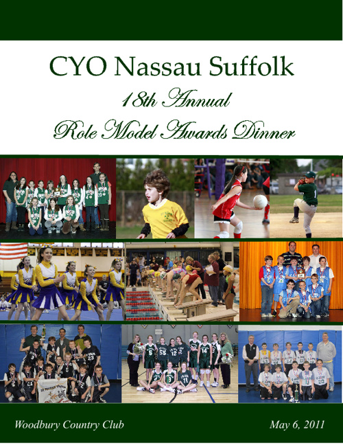 CYO of Nassau / Suffolk - Role Model 2010-11