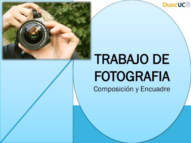 Taller Fotografia Composición y Encuadre