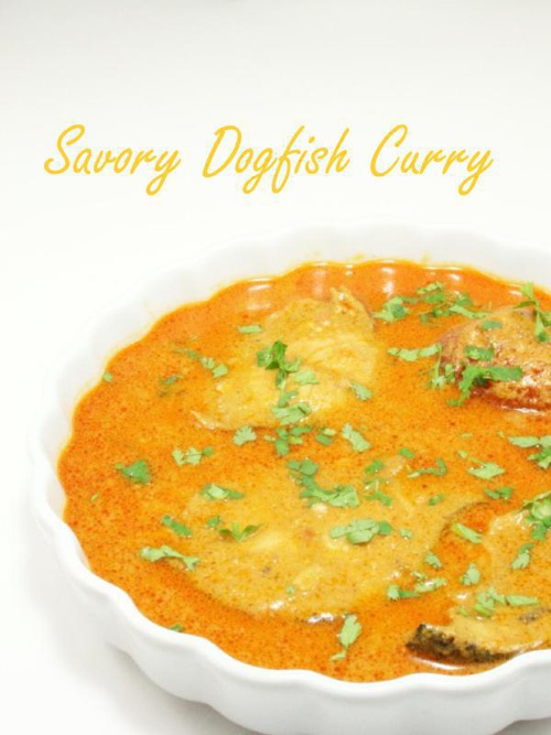 Savory Dogfish Curry