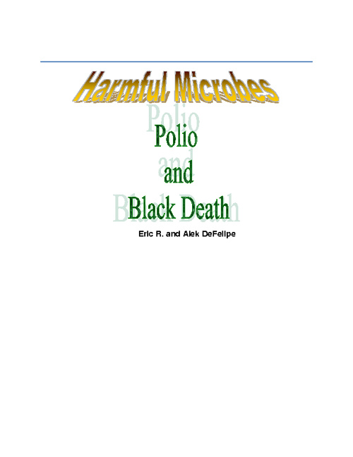 Polio and Black Death