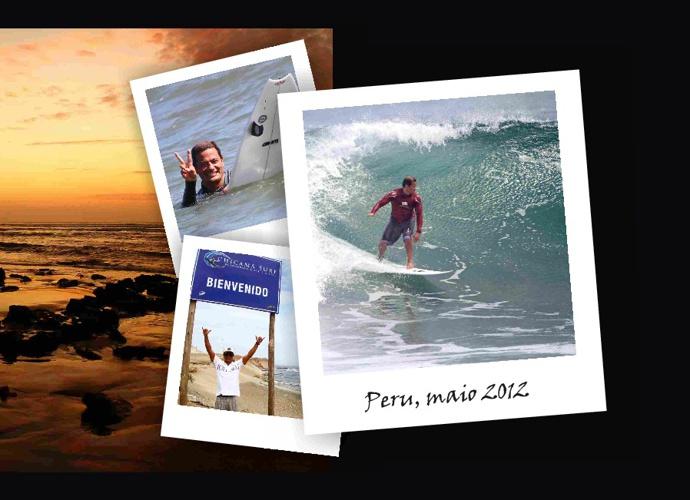 Toshio - surfing Peru, 2012