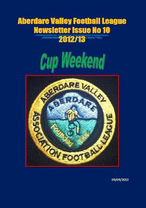 Aberdare Valley Football League Newsletter Issue 10