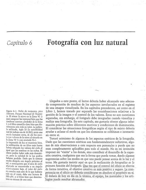 capitulo 6 - Fotografía con luz natural - Parte 1