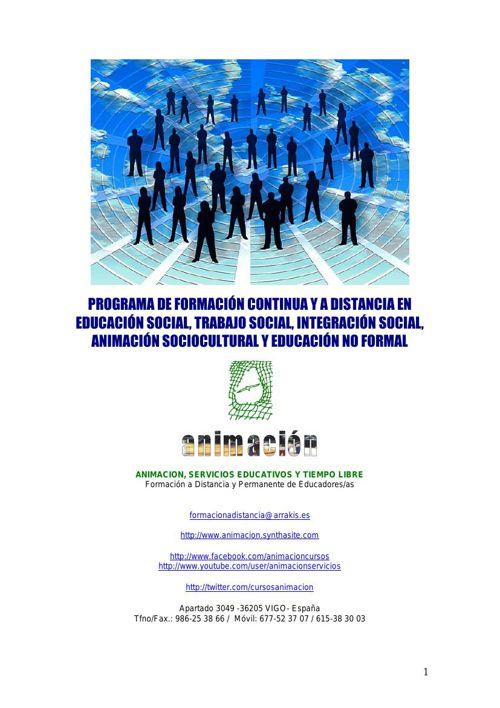 Catalogo Cursos Educacion