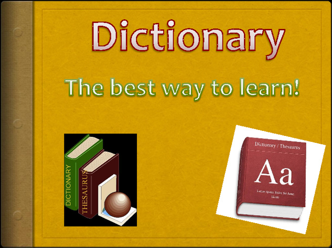 12 Words Dictionary