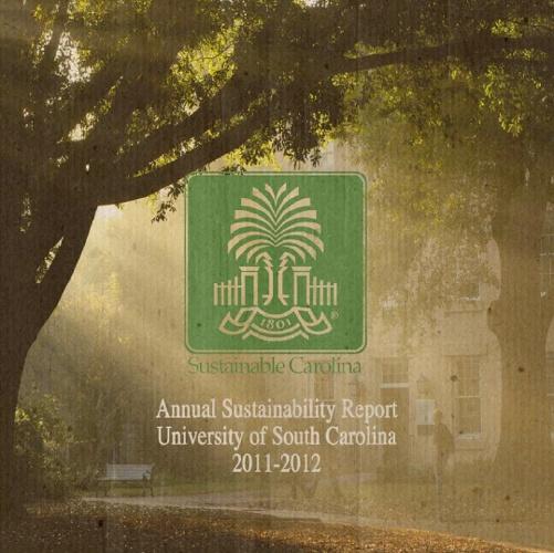 Sustainable Carolina Annual Report 2011-2012