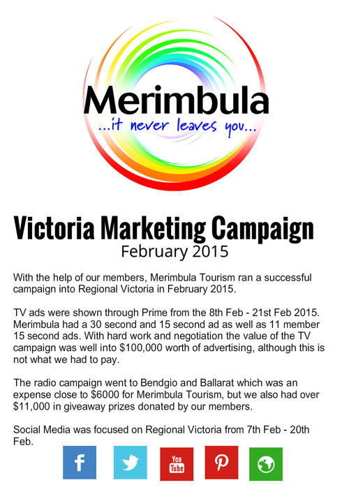 VICTORIA Marekting Campaign