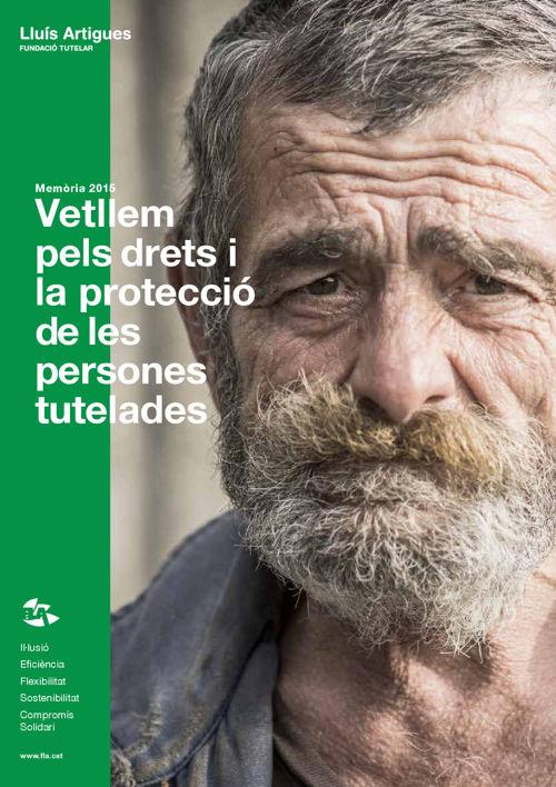 Memòria 2015 Fundació Tutelar Lluís Artigues