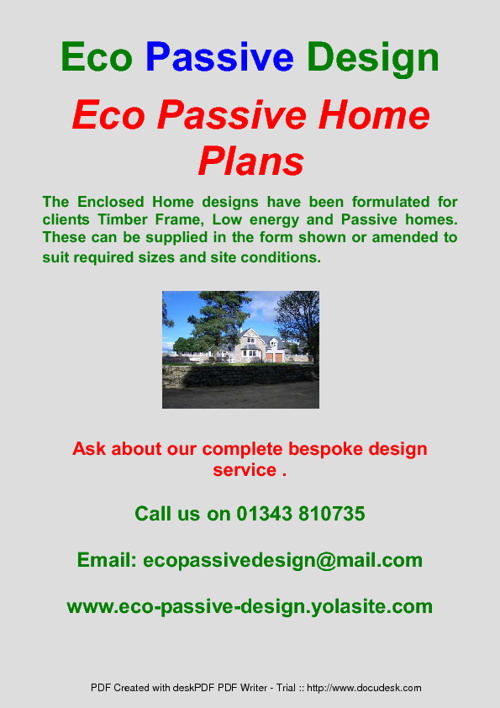 Eco Passive Home Designs