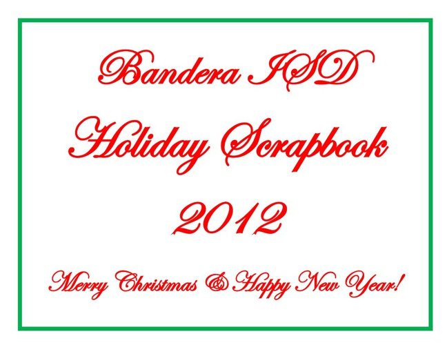 BISD Holiday Scrapbook 2012