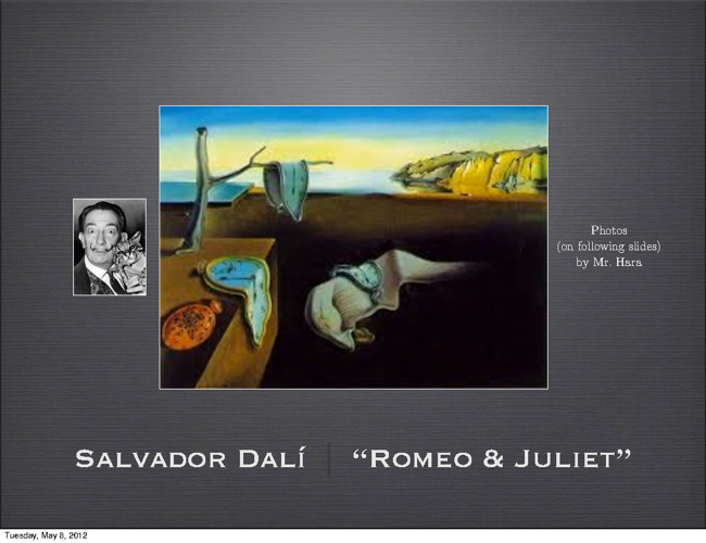 Romeo and Juliet by Dalí