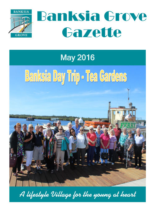 Banksia Gazzette- May 2016