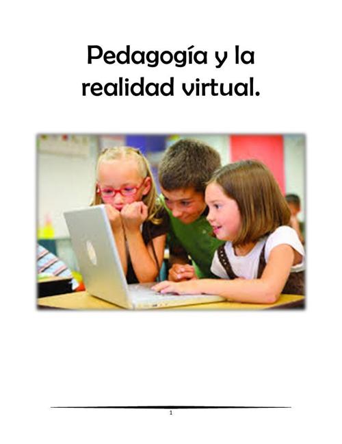 Pedagogía y la realidad virtual c